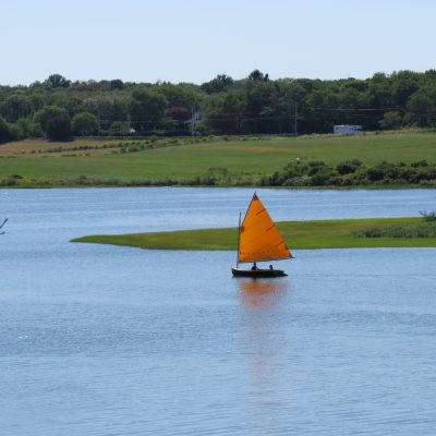July: Sailing at the Slocum's River Reserve - Mary Glickman