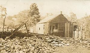 Allen's Mill After Fire