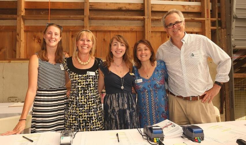 DNRT Staff at 2017 Barn Bash
