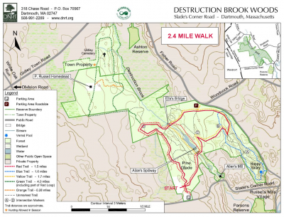 Map for WALK at DBW